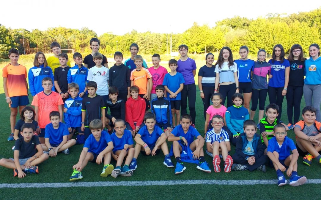 Escuela de atletismo curso 2018-2019