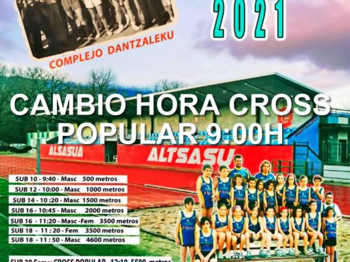 CAMPEONATO NAVARRO DE CROSS LARGO 14 FEBRERO